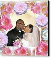 I Pronounce You Husband And Wife Canvas Print