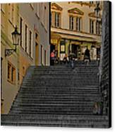 I Walked The Streets Of Prague Canvas Print