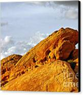 Imagination Runs Wild - Valley Of Fire Nevada Canvas Print by Christine Till