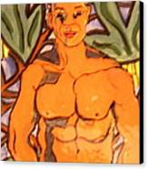 In The Jungle Canvas Print