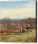 In The New Forest Canvas Print