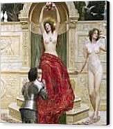 In The Venusburg Canvas Print