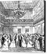 Inaugural Ball, 1869 Canvas Print