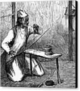 India: Pearl Borer, 1876 Canvas Print