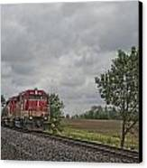 Indiana Southern 4051 At Mackey Indiana Canvas Print by Jim Pearson