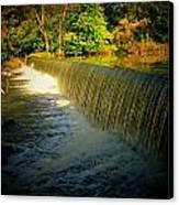 Indiana Waterfall Canvas Print by Joyce Kimble Smith