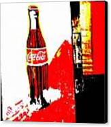 Indonesian Coke Ad Canvas Print by Funkpix Photo Hunter