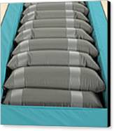 Inflated Hospital Air Mattress Canvas Print by Mark Sykes