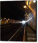 Inside The Stockton Street Tunnel In San Francisco . 7d7363.3 Canvas Print
