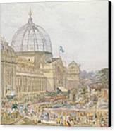 International Exhibition Canvas Print by Edward Sheratt Cole