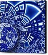 Interstellar City Canvas Print