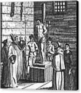 Ipswich Martyr, 1555 Canvas Print by Granger