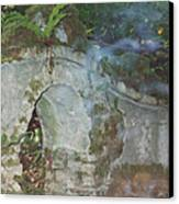 Ireland Ghostly Grave Canvas Print