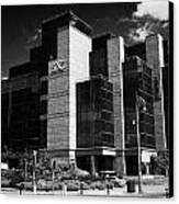 Irelands Ifsc International Financial Services Centre In Dublins Docklands Dublin City Centre Canvas Print