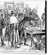 Irish Land League, 1886 Canvas Print by Granger