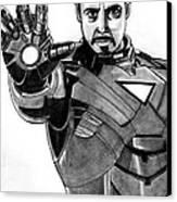 Iron Man Canvas Print by Ralph Harlow