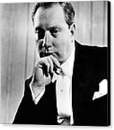 Isaac Stern 1920-2001, Violinist Canvas Print by Everett