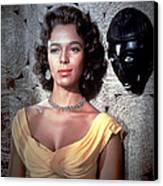 Island In The Sun, Dorothy Dandridge Canvas Print