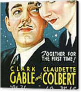 It Happened One Night Canvas Print