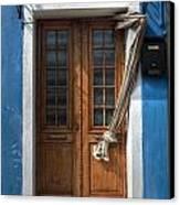 Italy Old Door Canvas Print by Joana Kruse