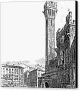 Italy: Siena, 19th Century Canvas Print by Granger