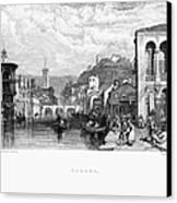 Italy: Verona, 1833 Canvas Print