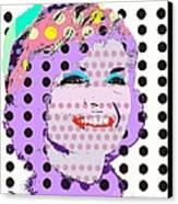 Jackie O Canvas Print by Ricky Sencion