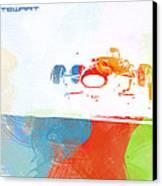 Jackie Stewart Canvas Print by Naxart Studio