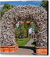 Jackson Hole Canvas Print by Robert Bales
