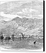 Jamaica: Kingston, 1865 Canvas Print by Granger