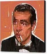 James Bond Canvas Print by Russell Pierce
