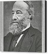 James Prescott Joule, British Physicist Canvas Print by Science, Industry & Business Librarynew York Public Library