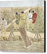 Japan: Irrigation, C1575 Canvas Print
