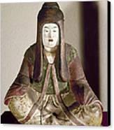 Japan: Statue, 9th Century Canvas Print