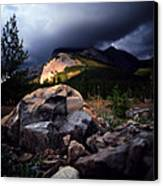Jasper - Summer Storm Canvas Print by Terry Elniski