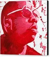 Jay-z Canvas Print by Michael Ringwalt