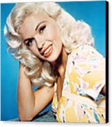 Jayne Mansfield, 1950s Canvas Print by Everett