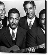 Jazz Vocal Quartet The Mills Brothers Canvas Print by Everett