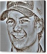Jeff Gordon In 2010 Canvas Print by J McCombie