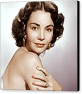Jennifer Jones, Ca. Early 1950s Canvas Print by Everett