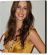 Jessica Lowndes At Arrivals For The Canvas Print by Everett
