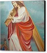 Jesus Canvas Print by Prasenjit Dhar