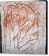 Jesus The Good Shepherd - Tile Canvas Print by Gloria Ssali