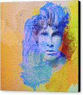Jim Morisson Canvas Print by Naxart Studio