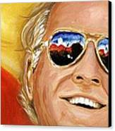 Jimmy Buffet At The Jazz Fest Canvas Print by Terry J Marks Sr