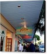 Jimmy Buffet's Margaritaville Key West Canvas Print