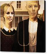 John And Kate Plus Eight Canvas Print by Anthony Caruso