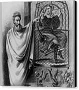 John Brown Exhibiting His Hangman, 1863 Canvas Print by Photo Researchers