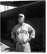 John Mcgraw -  New York Giants Canvas Print by David Bearden