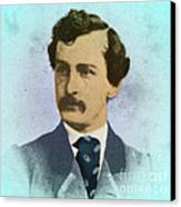 John Wilkes Booth, Assassin Canvas Print by Photo Researchers